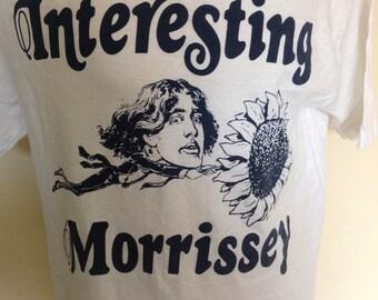 Morrissey, interesting Drug 1989 Original promo Oscar Wilde T Shirt.