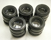 Helios 44-2 M42 5 pieces Soviet Lens for Zenit Pentax Canon