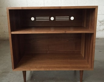 Mid Century Modern Record Cabinet (NEW PHOTOS)