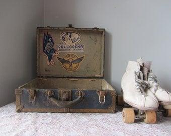 MARKED DOWN Vintage/Antique Roller Skates in Original Case