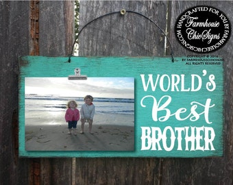 gift for brother, brother gift, brother picture frame, brother, brother sign, brother birthday, brother Christmas gift, brother gift, 240