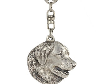 Leonberger, dog keyring, keychain, limited edition, ArtDog