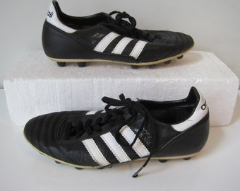 ADIDAS Cleats Copa Mundial Soccer Shoes Size: 7 Mens Sneakers Trainers Leather Lace up VINTAGE SH813