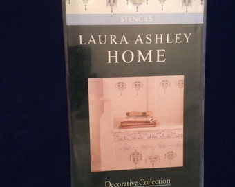 Laura Ashley Home stencil Chinese Lanterns 9 x 18 inches