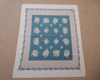 50 x 42  Lily of the Valley Tablecloth