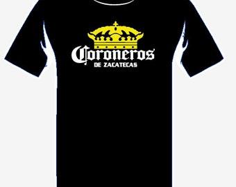 Coroneros de Zacatecas T Shirt Tank Top Corona Beer