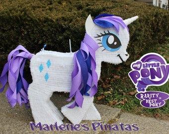 My little pony pinata..! Rarity pony.