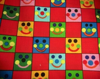 1 Yard Grammie And Mimi's Baby Geniuses Fabric Smiling Faces