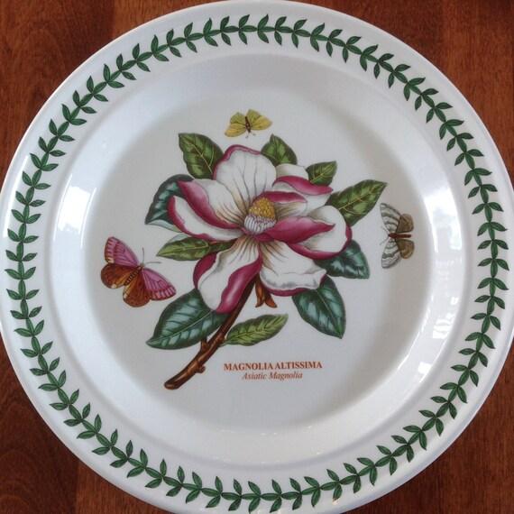 Portmeirion Botanic Garden 10 Dinner Plate Pink And