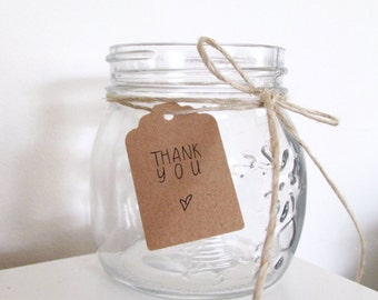 Thank You Tags | Wedding Favour Tags | Gift Tags | Lily Collection