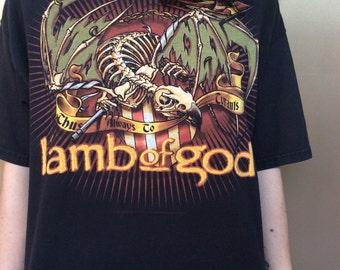 Worn In Lamb Of God T Shirt