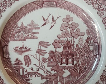 "Spode Decorative Plate - ""Willow"""