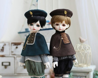 Nigo---BJD clothes = Leaves =for MSD/Holiday Child