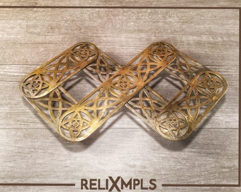 Metal Expandable Trivet with Wheels