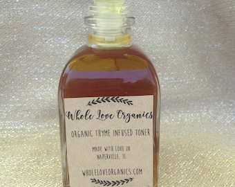 Organic Witch Hazel Facial Toner - Acne Fighter