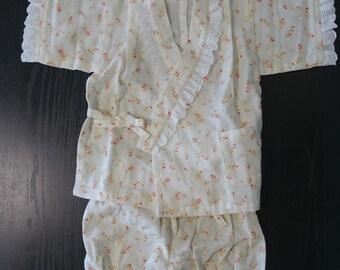Jinbei for kids,Double gauze, Japan,Made in Japan,children cloth,J-3