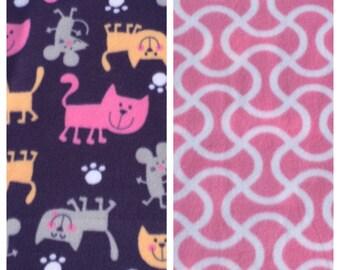 Fleece Cat Blanket(C82)