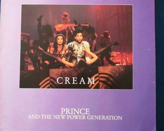 "Prince Cream 1991 US 12"" vinyl Maxi-Single 3-Tracks made in England DJ dance mix extended version #princerip retro music"