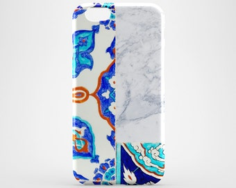 Moroccan Phone Case White Marble iPhone 7 Case Morocco iPhone 6 Case Bohemian iPhone 7 Plus Case iPod Xperia Morocco Galaxy Case iPhone 4-5