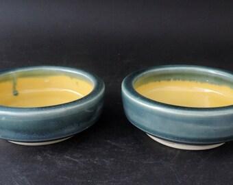 Pair of Small Bowls, Yellow