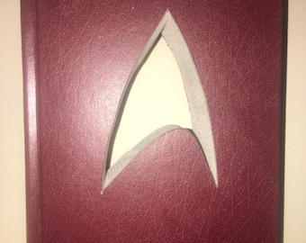 Hardcover Reader Digest Book with the Star Trek symbol cut inside it!!  Custom Made Just For YOU!!!!