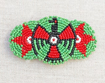 Wonderful, Vintage Beaded Native American Barrette