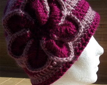 Woman is A the hand raspberry and old hat pink