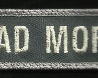 BAD MOFO Velcro Law Enforcement Police Patch - ACU Light