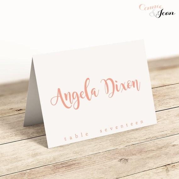 Refreshing image pertaining to printable name card