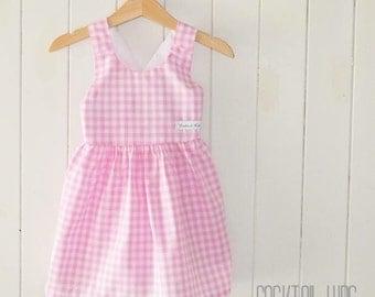 Baby pink jessie dress