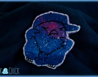 ChickyouRap Galaxy Chicks brooch