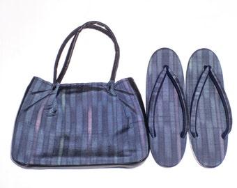Kimono bag and Zori