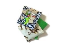 Jungle Theme Toy - Outdoor Play - Tossing Game - Bean Bags - Montessori Toy - Zebra Toy - Sensory Game - Monkeys Pattern - Animals Pattern