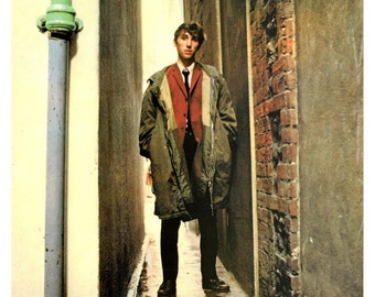 Jimmy Quadrophenia 1979 Album Cover Stretched Art Canvas Choice of sizes available.