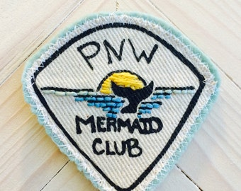 PNW Patch, patch, mermaid gift, ocean patch, wanderlust patch, Surf patch, the great northwest, mermaid patch, jacket patch