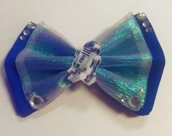 Star Wars R2D2 Fabric Hair Bow