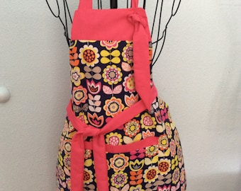 Summer Flowered Apron