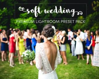 Lightroom Preset Pack Soft Wedding Premium Adobe Presets for Photographers