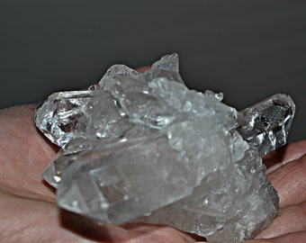 Quartz Crystal Points Cluster