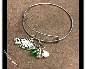 Philadelphia Eagles Head Bangle