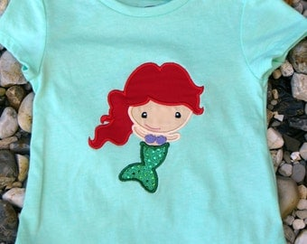 Mermaid Shirt with Personalization Available