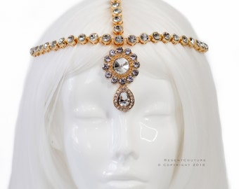 Nebet Gold Headpiece