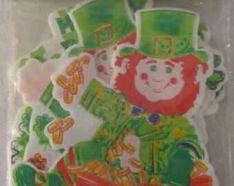 15% Sale Saint Patricks Day Leprechaun Yard Decor Lot of 3 New