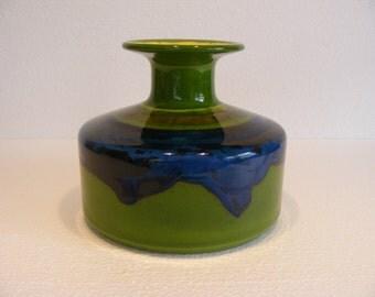 Blue/green Hutschenreuther vase