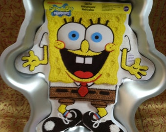 New Wilton Spongebob Squarepants Cake Pan