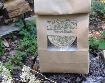 Forest Bath Salts - 2 cups - Himalayan Salt, Epsom Salts, and Essential Oils