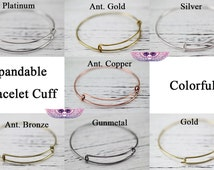 Expandable Bangle Bracelet Adjustable Bracelet Expandable Bangle Bracelet Charm Bracelet - Kids Wire Bangles