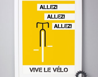 Personalised Cycling Giclee Print