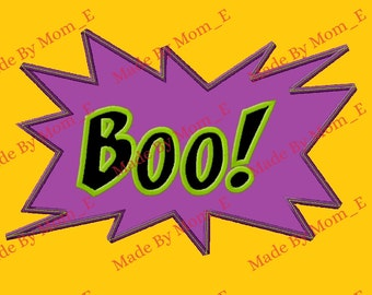Boo! Applique