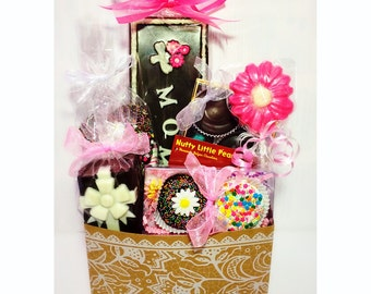 Belgian Chocolate Mother's Day Gift Basket